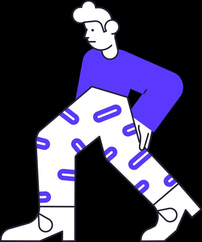 bad gateway  man Clipart illustration in PNG, SVG