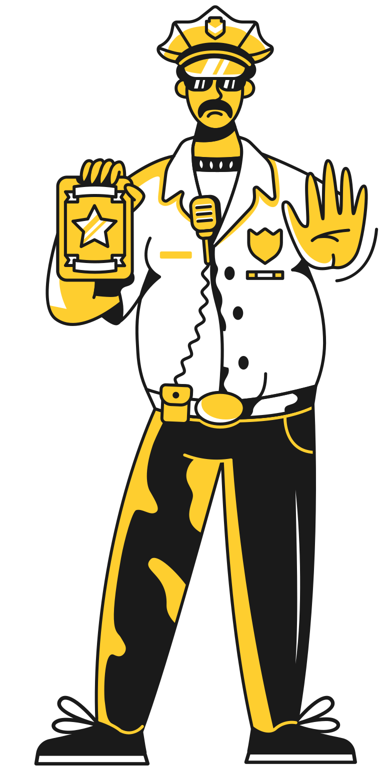 style policeman Vector images in PNG and SVG | Icons8 Illustrations