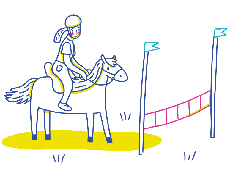 style Horse riding Vector images in PNG and SVG | Icons8 Illustrations