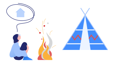 style Thinking about home images in PNG and SVG   Icons8 Illustrations