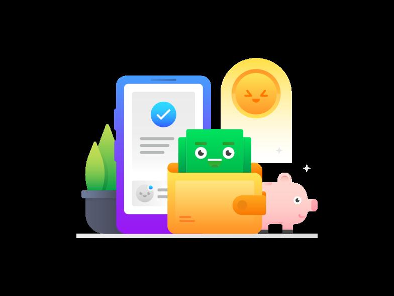 Imagens vetoriais de pagamento processado no estilo  em PNG e SVG | Ilustrações do Icons8