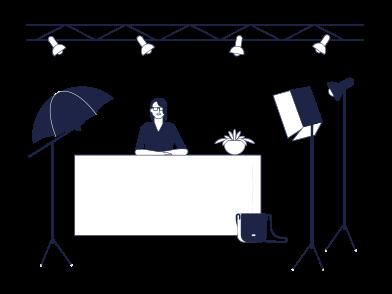 Иллюстрация Видео поток в стиле  в PNG и SVG | Icons8 Иллюстрации