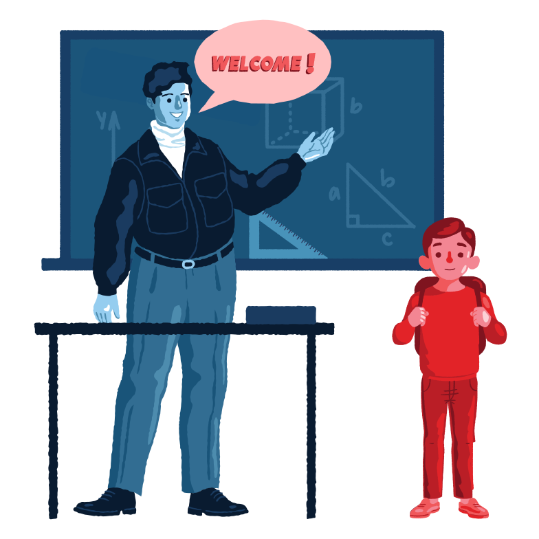 New in the class Clipart illustration in PNG, SVG
