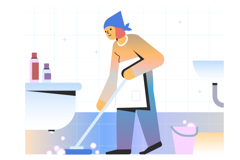 style Cleaning woman Vector images in PNG and SVG | Icons8 Illustrations