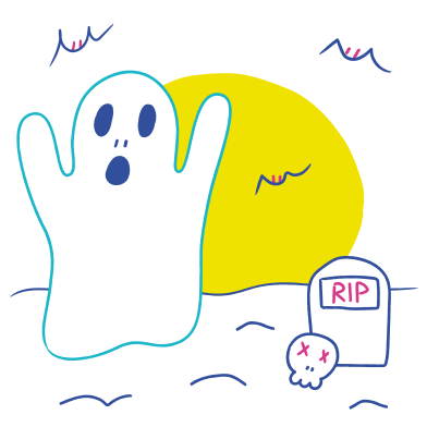 style Halloween ghost images in PNG and SVG | Icons8 Illustrations