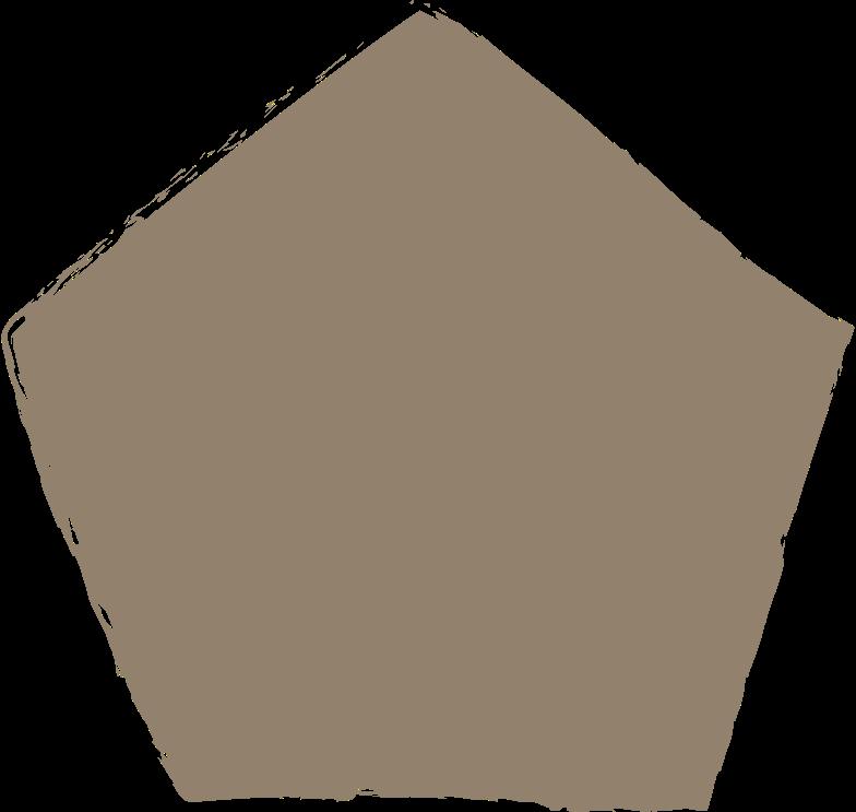 pentagon-dark-grey Clipart illustration in PNG, SVG