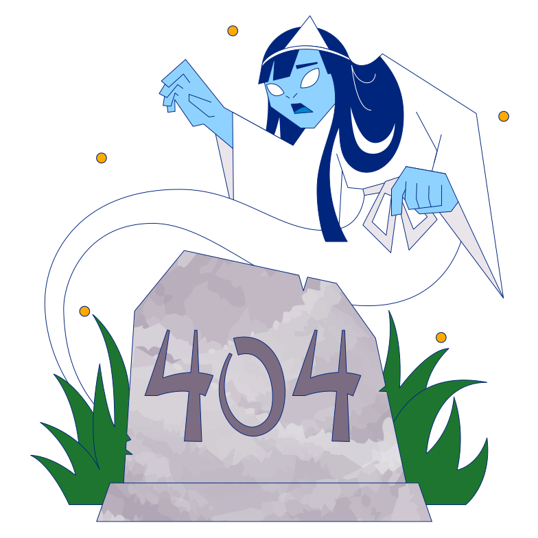404 not found Clipart illustration in PNG, SVG