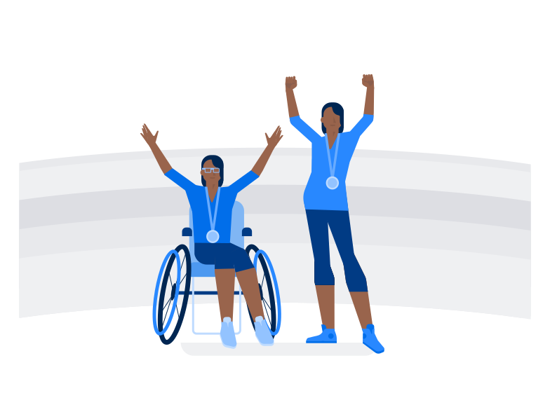 style Paralympians  Vector images in PNG and SVG | Icons8 Illustrations