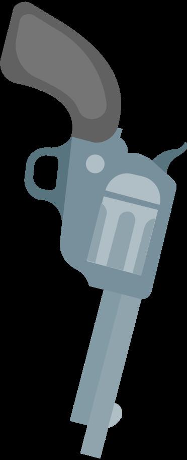 revolver Clipart illustration in PNG, SVG