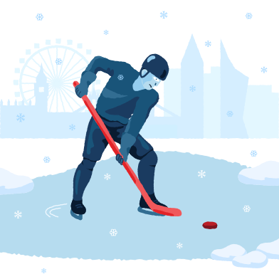 style Lake hockey images in PNG and SVG | Icons8 Illustrations