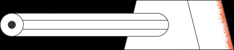 sharpener and pencil Clipart illustration in PNG, SVG