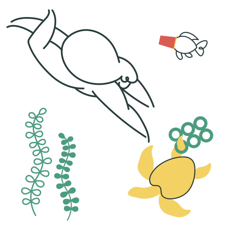Save the ocean Clipart illustration in PNG, SVG