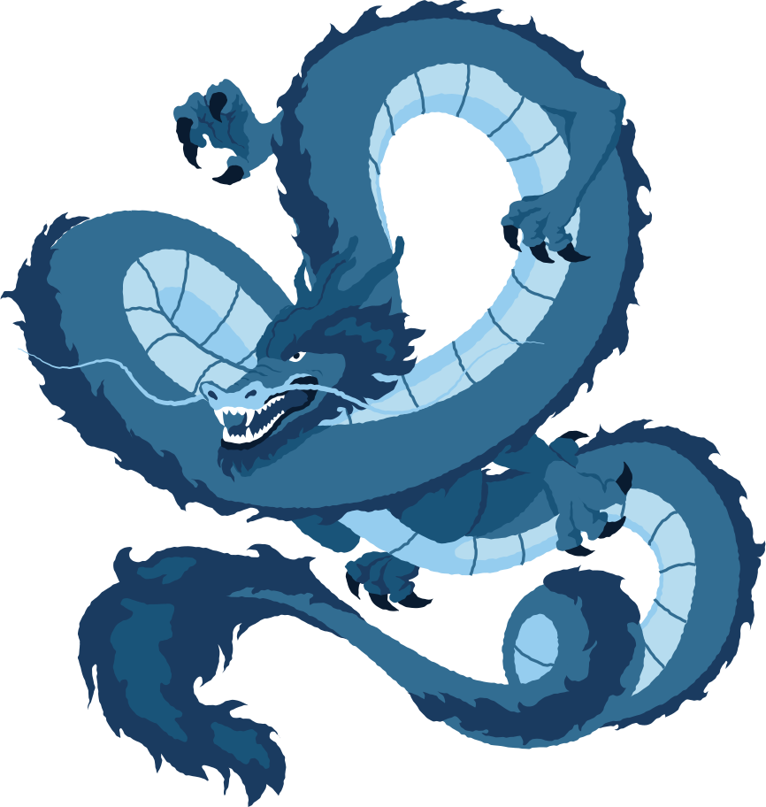 chinese flying dragon Clipart illustration in PNG, SVG