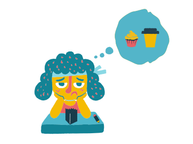 style Girl tired of studying images in PNG and SVG   Icons8 Illustrations