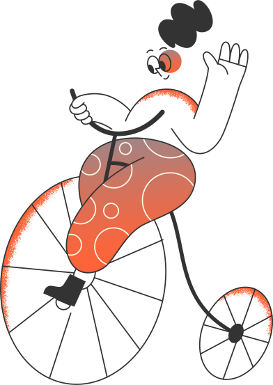 style girl on the bicycle images in PNG and SVG | Icons8 Illustrations