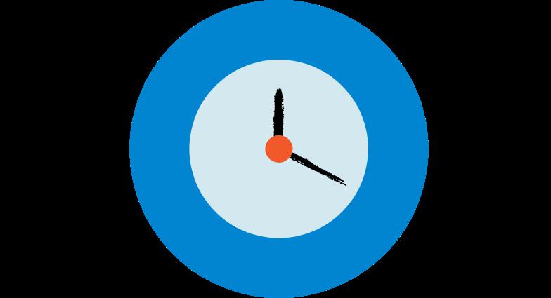 alarm clock Clipart illustration in PNG, SVG