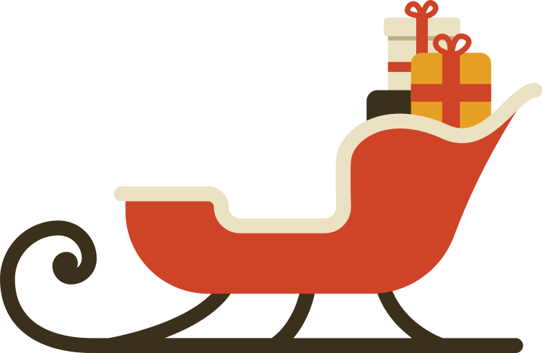 style santa sleigh Vector images in PNG and SVG | Icons8 Illustrations