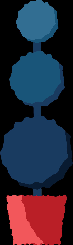figure bush Clipart illustration in PNG, SVG