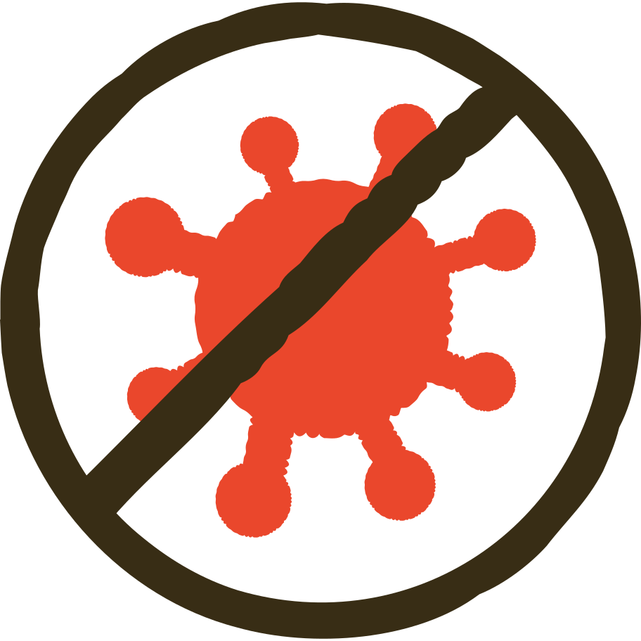no covid Clipart illustration in PNG, SVG