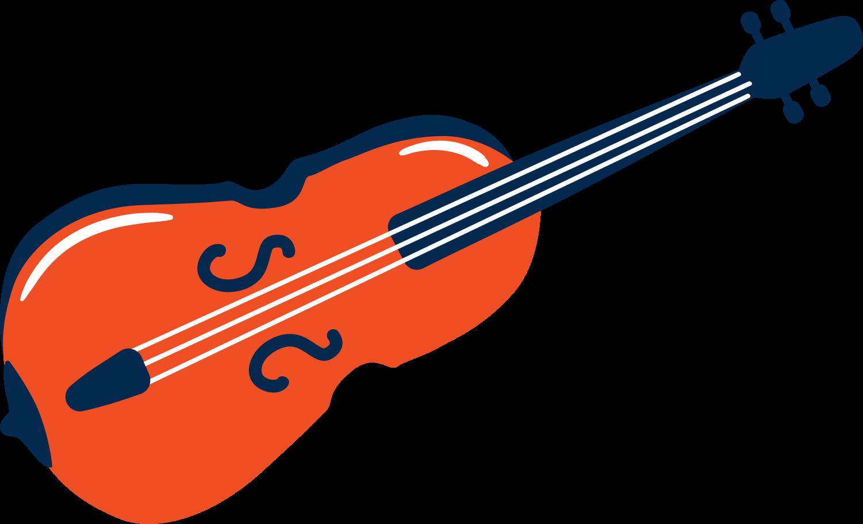 violin Clipart illustration in PNG, SVG