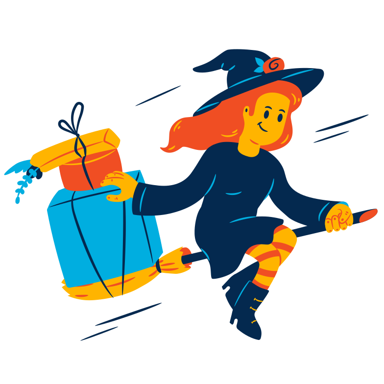 style Halloween delivery Vector images in PNG and SVG | Icons8 Illustrations