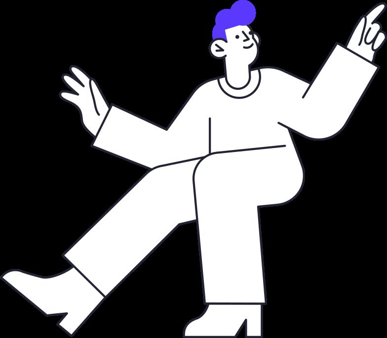 freelance  man Clipart illustration in PNG, SVG