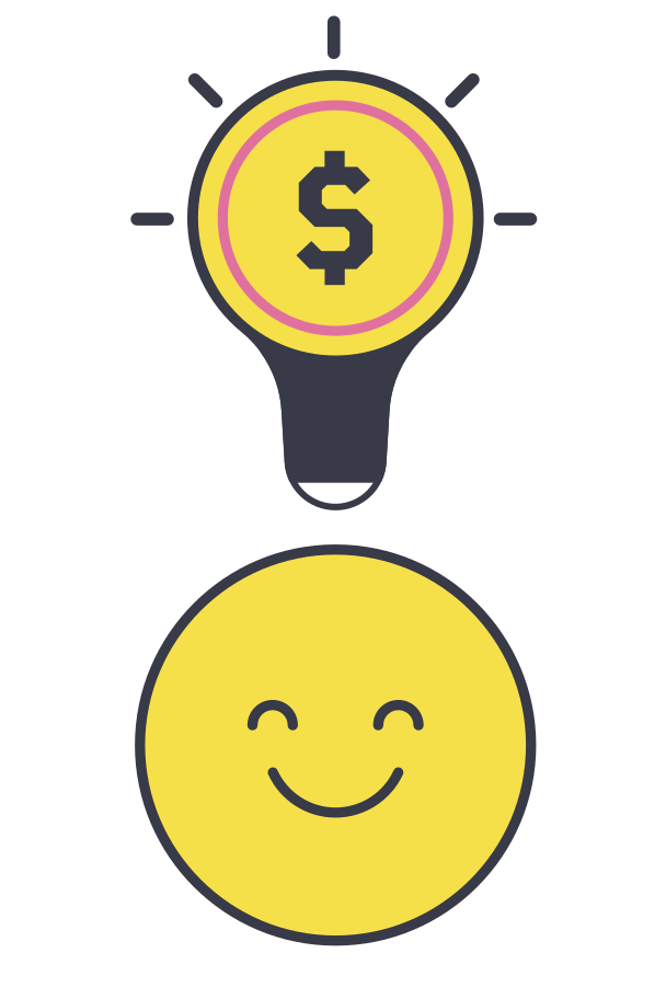 Financial idea Clipart illustration in PNG, SVG