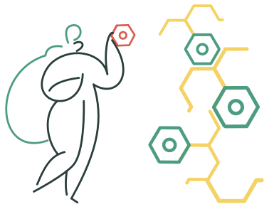 style Molecular chain images in PNG and SVG | Icons8 Illustrations