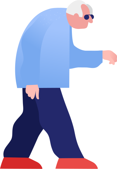 style grandpa walking images in PNG and SVG | Icons8 Illustrations