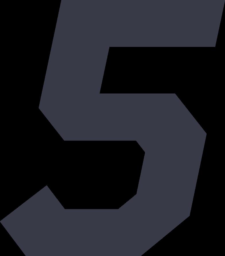 Imágenes vectoriales cinco en PNG y SVG estilo  | Ilustraciones Icons8