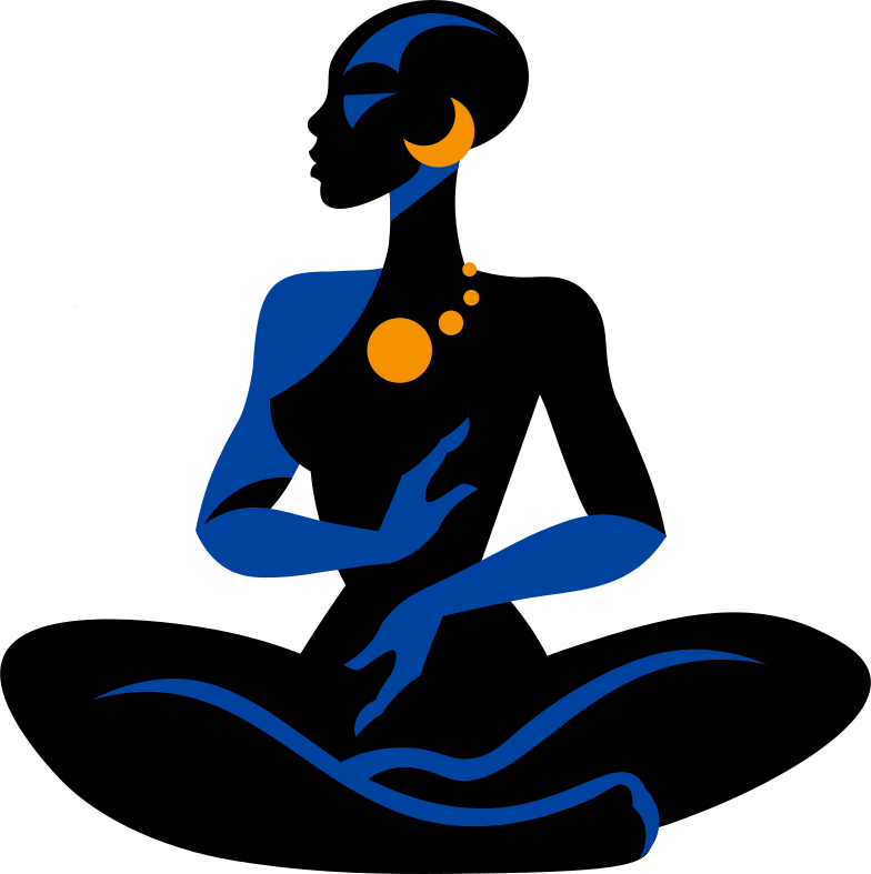 Immagine Vettoriale Seduta donna nera in PNG e SVG in stile  | Illustrazioni Icons8