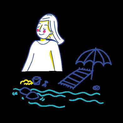 海 のクリップアートイラスト & イメージ PNGとSVG