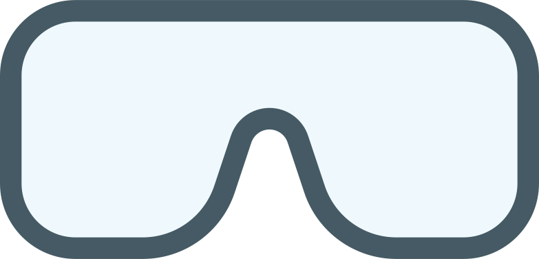 스타일 안전 고글 PNG 및 SVG 형식의 벡터 이미지 | Icons8 일러스트레이션