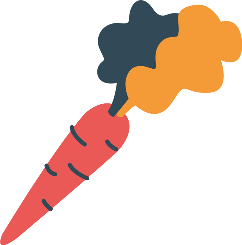 e carrot Clipart illustration in PNG, SVG
