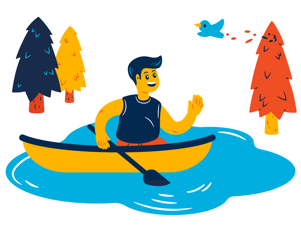 Boat trip Clipart illustration in PNG, SVG