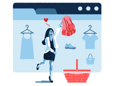style E-commerce images in PNG and SVG | Icons8 Illustrations