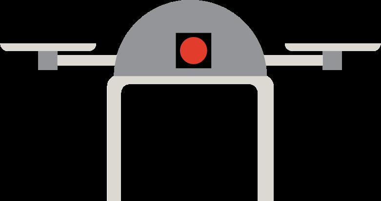Drohne Clipart-Grafik als PNG, SVG