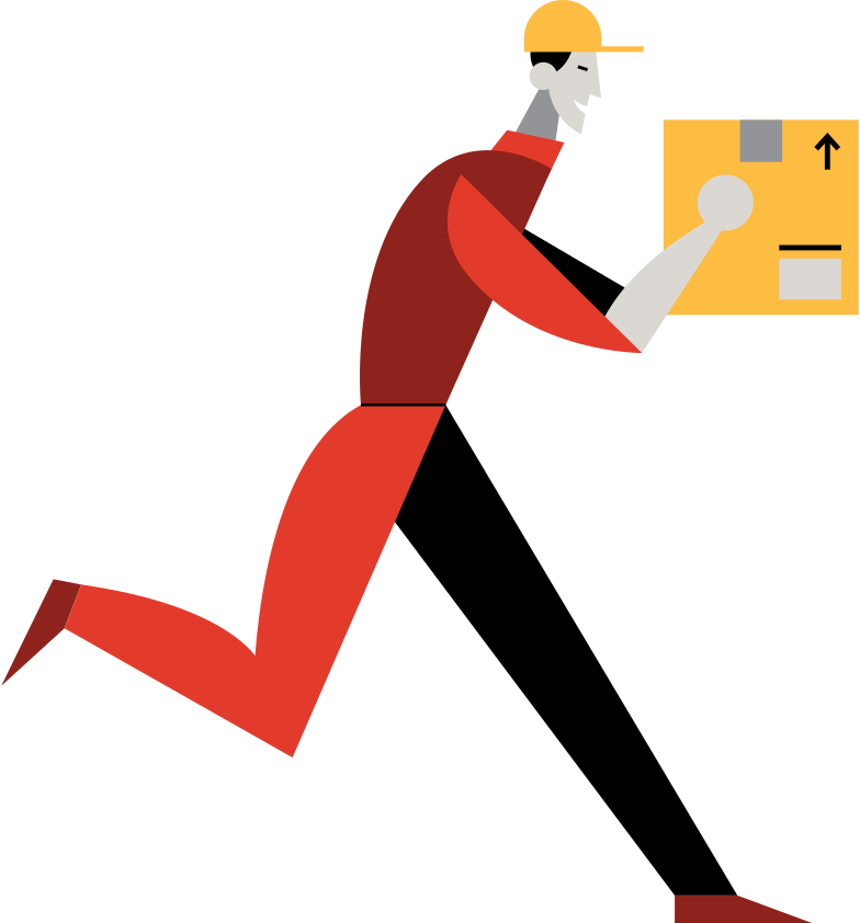 style delivery-man Vector images in PNG and SVG | Icons8 Illustrations