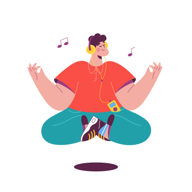 style Meditation images in PNG and SVG | Icons8 Illustrations