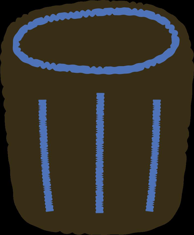 trashcan Clipart illustration in PNG, SVG