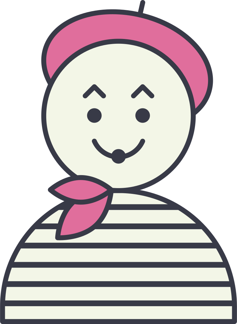clown mim Clipart illustration in PNG, SVG