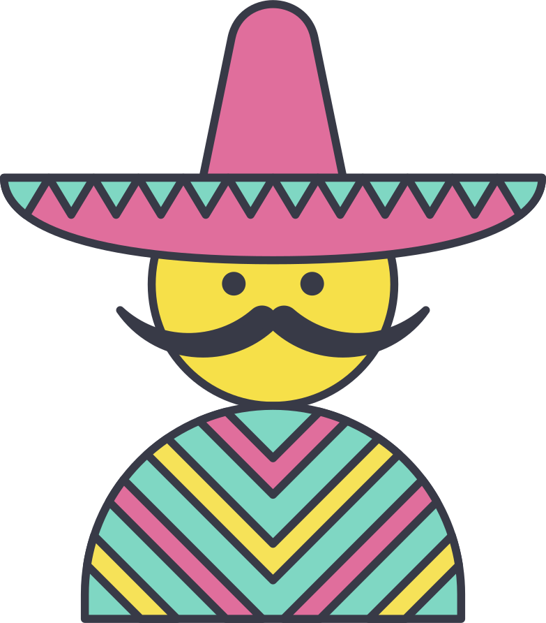 mexican Clipart illustration in PNG, SVG