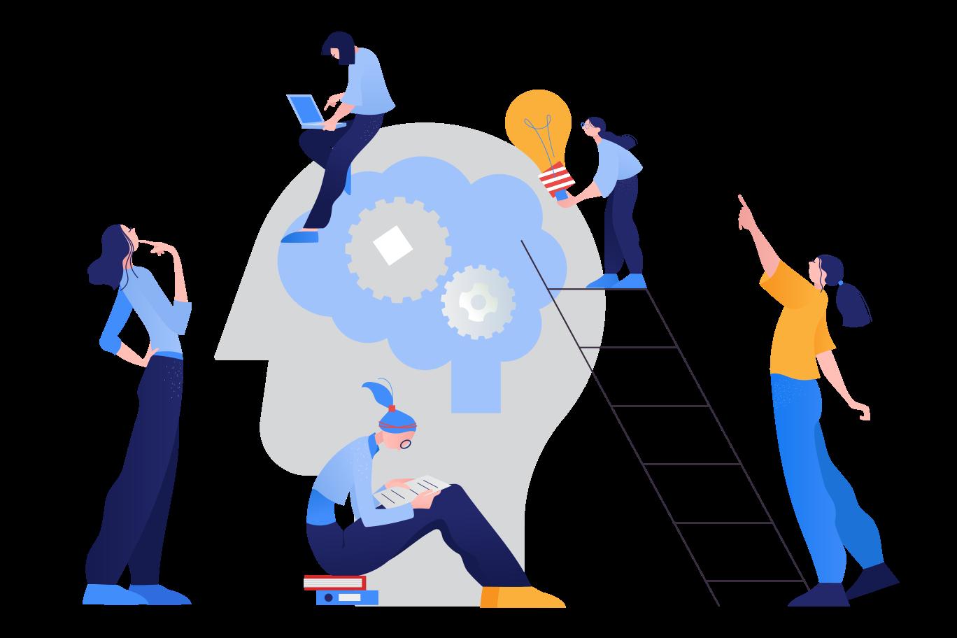 Brainstorm Clipart illustration in PNG, SVG