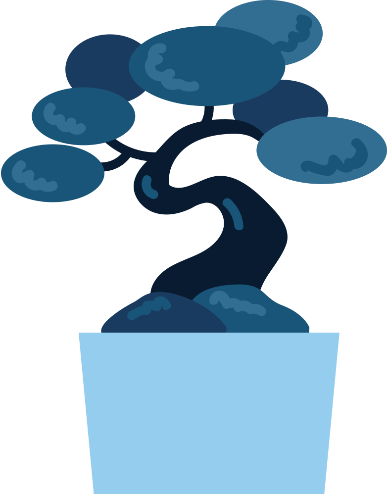 bonsai Clipart illustration in PNG, SVG