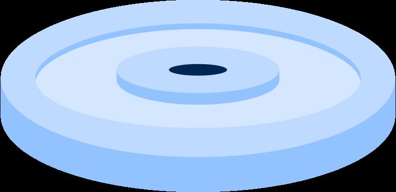 barbell disc Clipart illustration in PNG, SVG