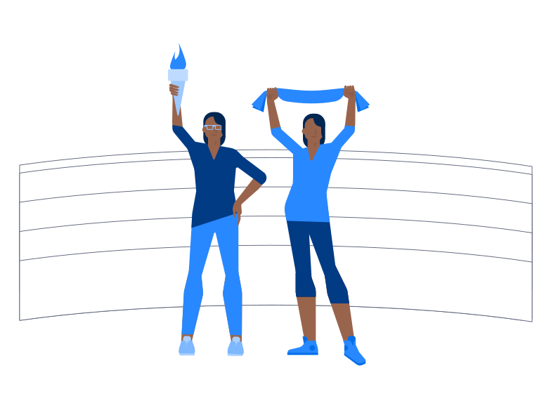 Olympic games Clipart illustration in PNG, SVG