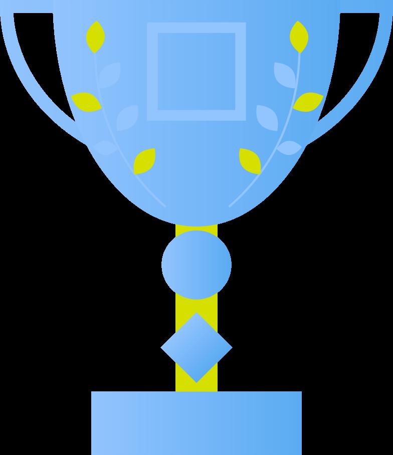 trophy Clipart illustration in PNG, SVG