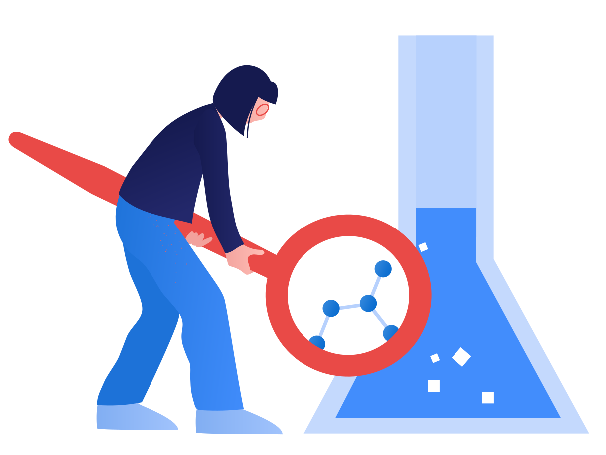 Science research Clipart illustration in PNG, SVG