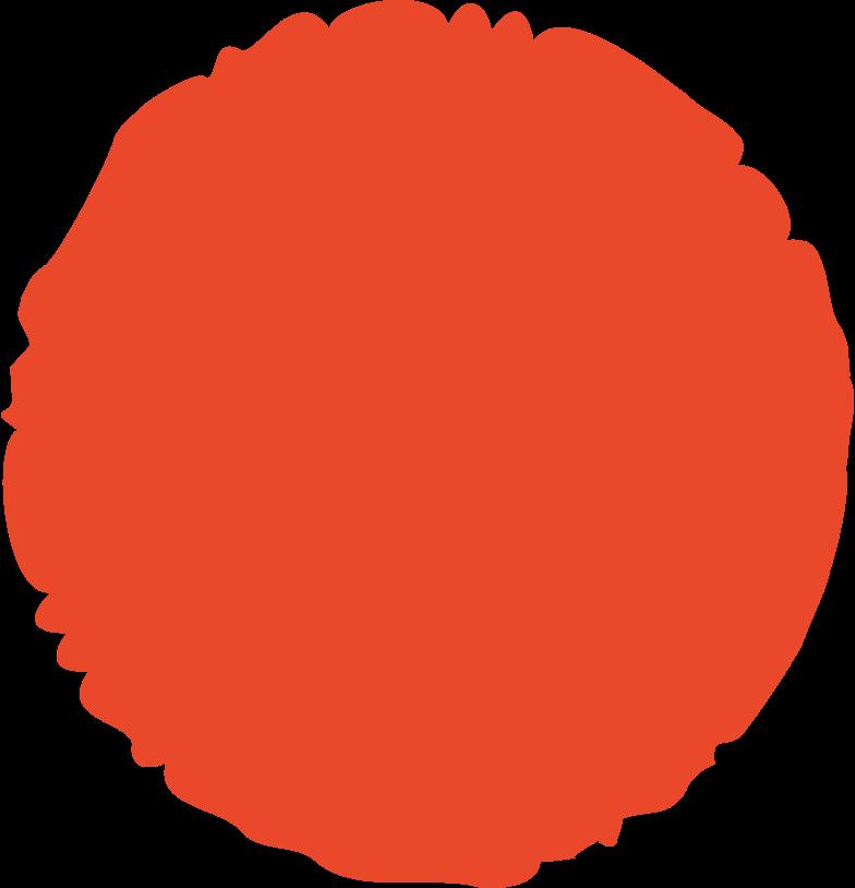circle red Clipart-Grafik als PNG, SVG