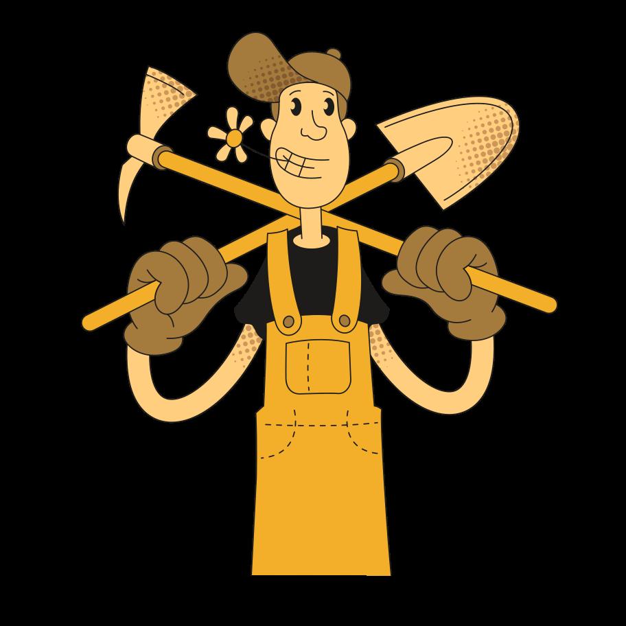 Under construction Clipart illustration in PNG, SVG